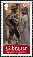Royal Gibraltar Regiment (Operations in Afghanistan) Army Soldier Stamp (2008)