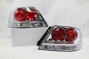 2004 2005 2006 Mitsubishi Lancer ES OZ Rally LS Tail Lights Black 1 Pair