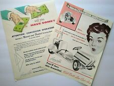 Gas Powered Go Carts Flyers Buggies Midget Race Cars 1950s Original Hanna Mobile