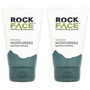 2x Vegan MENS SENSITIVE SKIN MOISTURISER Dry Irritated Itchy Facial Face  100ml