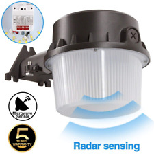 Outdoor LED Barn Yard Street Security Light Dusk To Dawn Wall Mount Waterproof