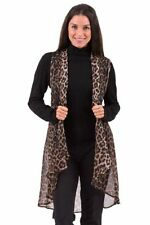 Chiffon Animal Print Tank, Cami Casual Tops & Blouses for Women