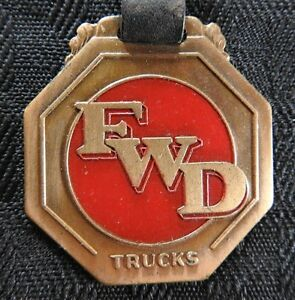 1920 FWD FOUR WHEEL DRIVE AUTO COMPANY CLINTONVILLE WI KITCHENER ONT WATCH FOB