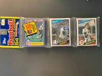 1984 Topps Football Rack Pack John Elway Rookie Showing *Awesome* 54 Cards