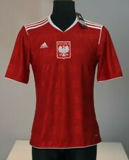 Poland with tags National team football shirt soccer jersey Adidas S men