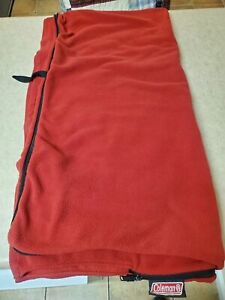 COLEMAN RED SLEEPING BAG