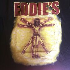 IRON MAIDEN official ITALIAN Fans Club EDDIE'S  t-shirt  Heavy Metal 2005 size M