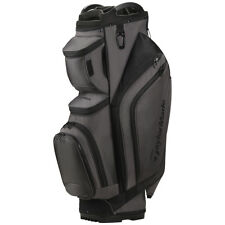 New 2017 Taylormade Supreme Cart Golf Bag - Gray - 14way Top