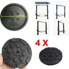4X Black Round  Heavy Duty Arm Pads for Car Lift Accessories Universal New