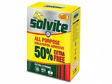 Solvite All Purpose Wallpaper Adhesive - Extra Strong