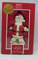 Lenox 2017 Ginger Claus Hanging Figurine Ornament