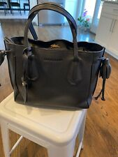 Authentic Longchamp Penelope Tote in Black Leather