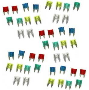 MICRO FUSIBLES DE 2 à 30 Amperios SURTIDO DE 50 fusibles