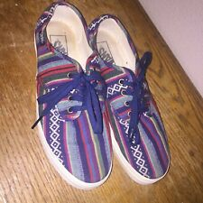 VANS RASTA Shoes Size 7 Men's / Women's size 8.5  RARE Must See !!