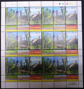 Tonga 2014 Mi.2006-08 kpl. Bogen 6 Satz ** Freimarken Vögel Birds 438,- €