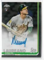2019 Topps Chrome Baseball Ramon Laureano Rookie Autograph Oakland Athletics