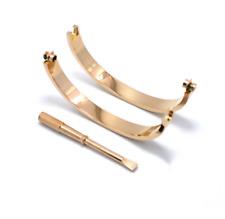 Titanium Steel Love Bracelets silver rose gold bracelet Bangles Women Screw