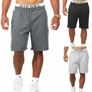 Young & Rich Herren Basic Sweatshorts kurze Jogging Hose Fitness vintage 301-S