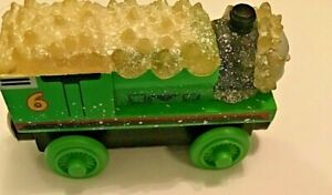 Thomas The Train And Friends Jack Frost Percy Wooden Railway Learning Curve 2003
