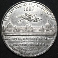 More details for 1862 international exhibition 'thomas ottley, birmingham' rare medal | km coins
