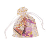 Wedding Party 7cm x 9cm Pink Pouch Bags Gift Jewelry Candy favor 100pcs