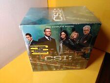 CSI:Crime Scene Investigation-Complete Series DVD Boxset-NEW-Free S&H w/Tracking