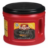 Folgers Coffee, Black Silk, 24.2 oz Canister, 1 Each (FOL20540)