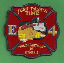 MEMPHIS TENNESSEE FIRE DEPARTMENT ENGINE COMPANY 4 PATCH