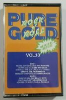 Rock N Roll Pure Gold Vol 13 Cassette Tape 1988 Golden Circle