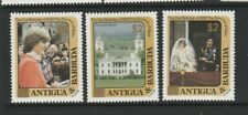 Antigua 1984 $2 Opts, on 21st Birthday in Gold UM/MNH SG 844/6