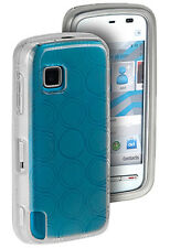 Silikon Case Transparent CIRCLE Tasche für Nokia 5230
