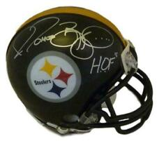 Jerome Bettis Autographed/Signed Pittsburgh Steelers Mini Helmet HOF JSA 10521