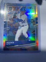 2020 Donruss Optic Baseball - Mookie Betts - #105 Silver Holo Prizm DODGERS