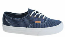 8fe20dadb1 VANS off The Wall Atwood Low Authentic Pro Floral Disney Unisex Womens  Trainers Washed Herringbone Blue