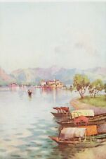 ITALY. Italian Lakes. In the Heat of the Day 1905 old antique print picture