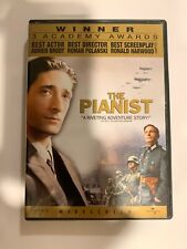 The Pianist (Dvd, 2003, Widescreen) Rare & Oop