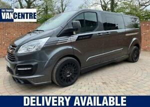 2018 Ford Transit Custom L2 H1 DOUBLE CAB RS SPORT TOURNEO 170BHP Diesel Manual