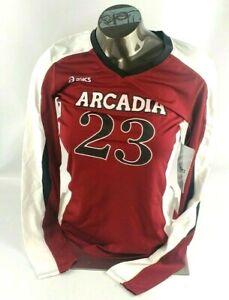 Asics Arcadia #23 Long Sleeve Roll Shot Jersey Shirt Women's Adult Size XS New