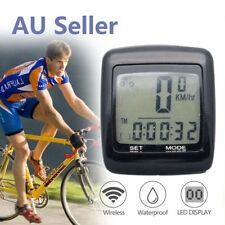 Waterproof Wireless Bicycle Bike Cycle LCD Digital Computer Speedometer Odometer