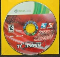 Top Spin 4 Topspin Tennis - Microsoft Xbox 360  Game - Tested Works 1-4 players