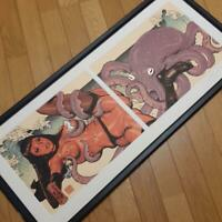 Rockin'Jelly Bean Octopus and Sea Woman First Edition 30 Limited Poster Rare F/S