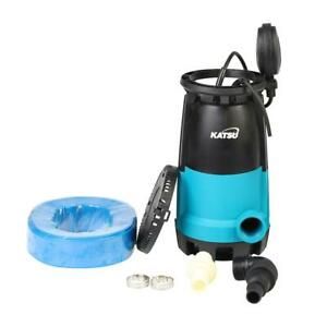 Submersible Clean Water Pump 400W With 10M Hose and Hose Clips