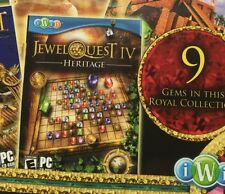Jewel Quest IV 4: Heritage PC Puzzle Game +8 More Jewel Quest Games New in Box