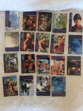 19 CARDS RACCOLTA FIGURINE STREET FIGHTER UPPER DECK 1994 CAPCOM