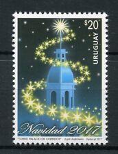 Uruguay 2017 MNH Christmas Navidad 1v Set Stamps