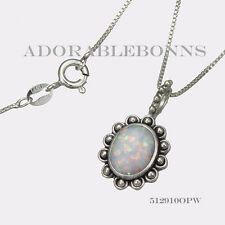 Treat October Birthstone Necklace 5129100Pw Authentic Lori Bonn Silver Trick or