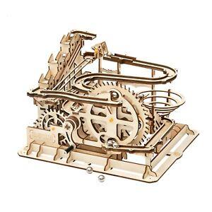 ROKR Wooden 3d Marble Run Parkour model Puzzle Kit LG501
