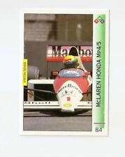 New listing Ayrton Senna   McLaren Honda MP4/5   1989 Phoenix USA   F1 Card   PMC #84