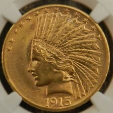 1915 10 Dollar Gold Indian Head NGC AU58 (This coin should be regraded)