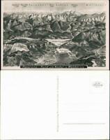 Ansichtskarte Kochel am See Umlandansichten - Landkarten AK 1932
